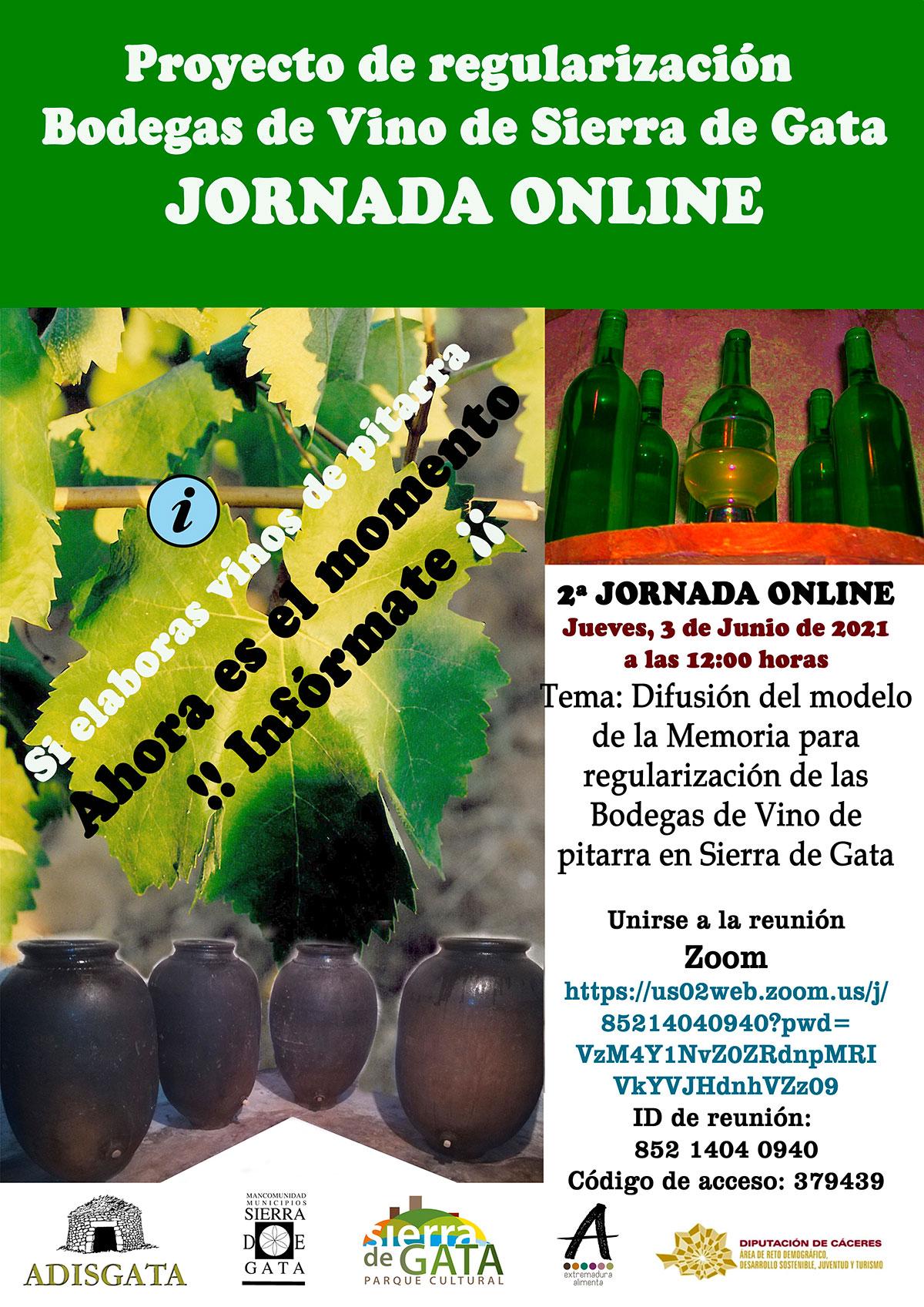 Jornada Online Bodegas Vino legalizacion